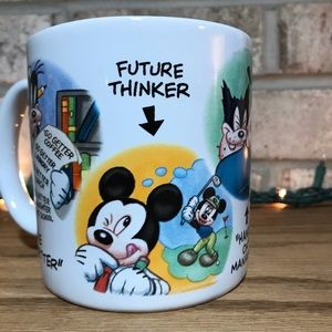 Disney Store Mickey Mouse Minnie Coffee Cup Mug